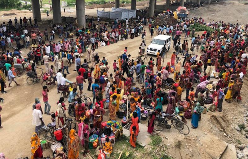 तीन दिनमा १८ सय नेपाली रोजगारीका लागि भारत गए
