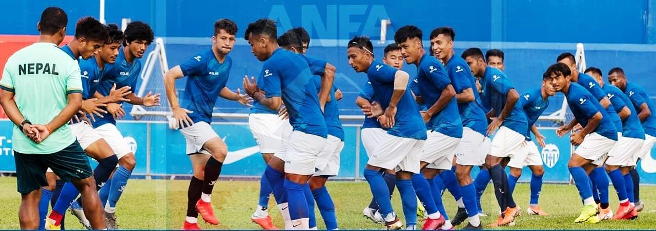 बंगलादेशविरुद्धको मैत्रीपुर्ण खेलका लागि एन्फाले ३५ खेलाडीहरुलाई प्रशिक्षणमा बोलायो