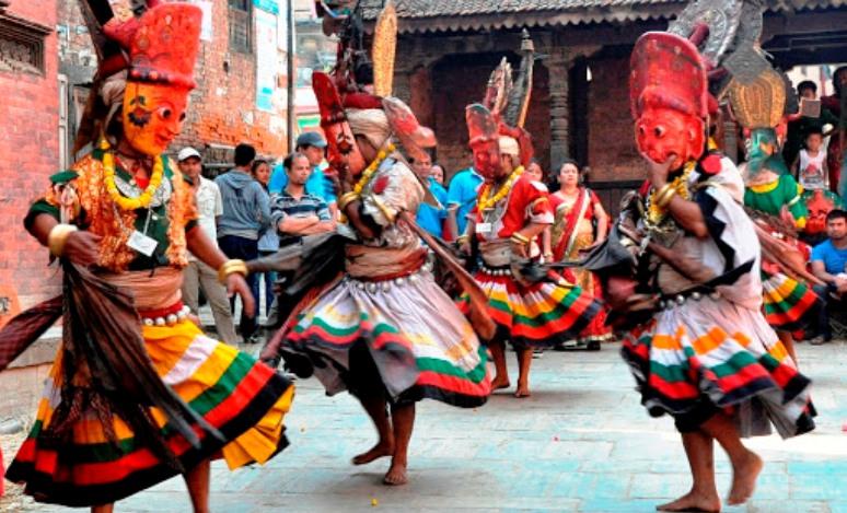 नवदुर्गाको तान्त्रिक नृत्य शुरु