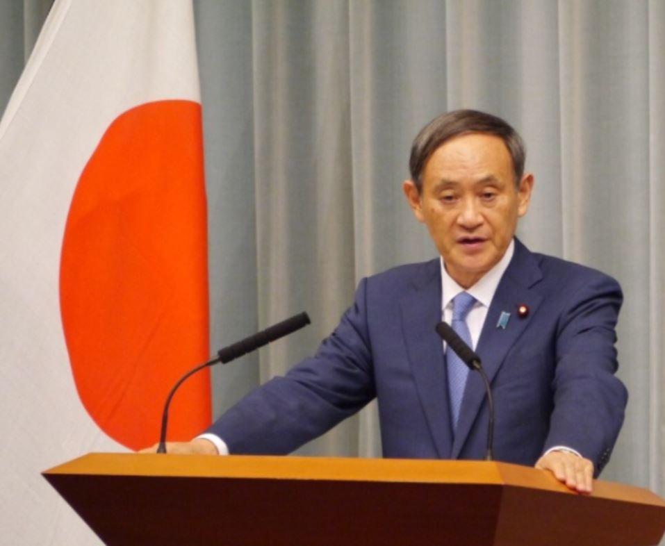 जापानका प्रधानमन्त्री सुगा अमेरिका भ्रमणमा, चीन मामिला मुख्य कार्यसूची