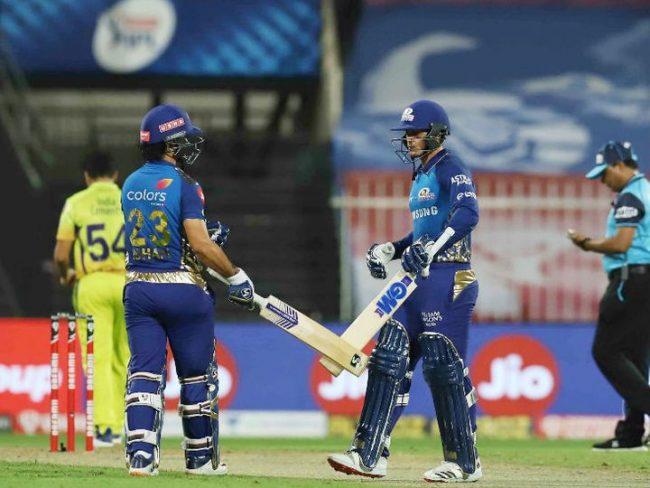 आईपीएल : मुम्बईले चेन्नईलाई दश १० विकेटले हरायो