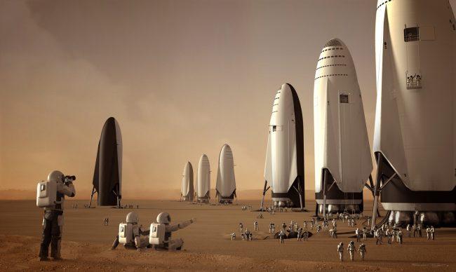 मंगल ग्रहका लागि हरेक दिन ३ उडान, पृथ्वीबाट १० लाख मानिस लगिने