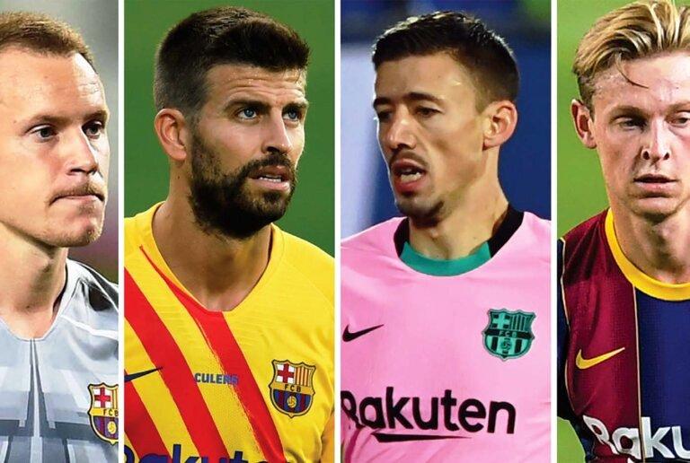 बार्सिलोनाले पहिलो खेल जितेपछि चार स्टार खेलाडीको सम्झौता नवीकरण गर्यो