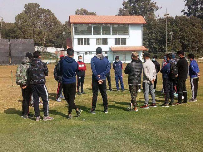 क्रिकेट खेलाडीहरुको पीसीआर परिक्षण