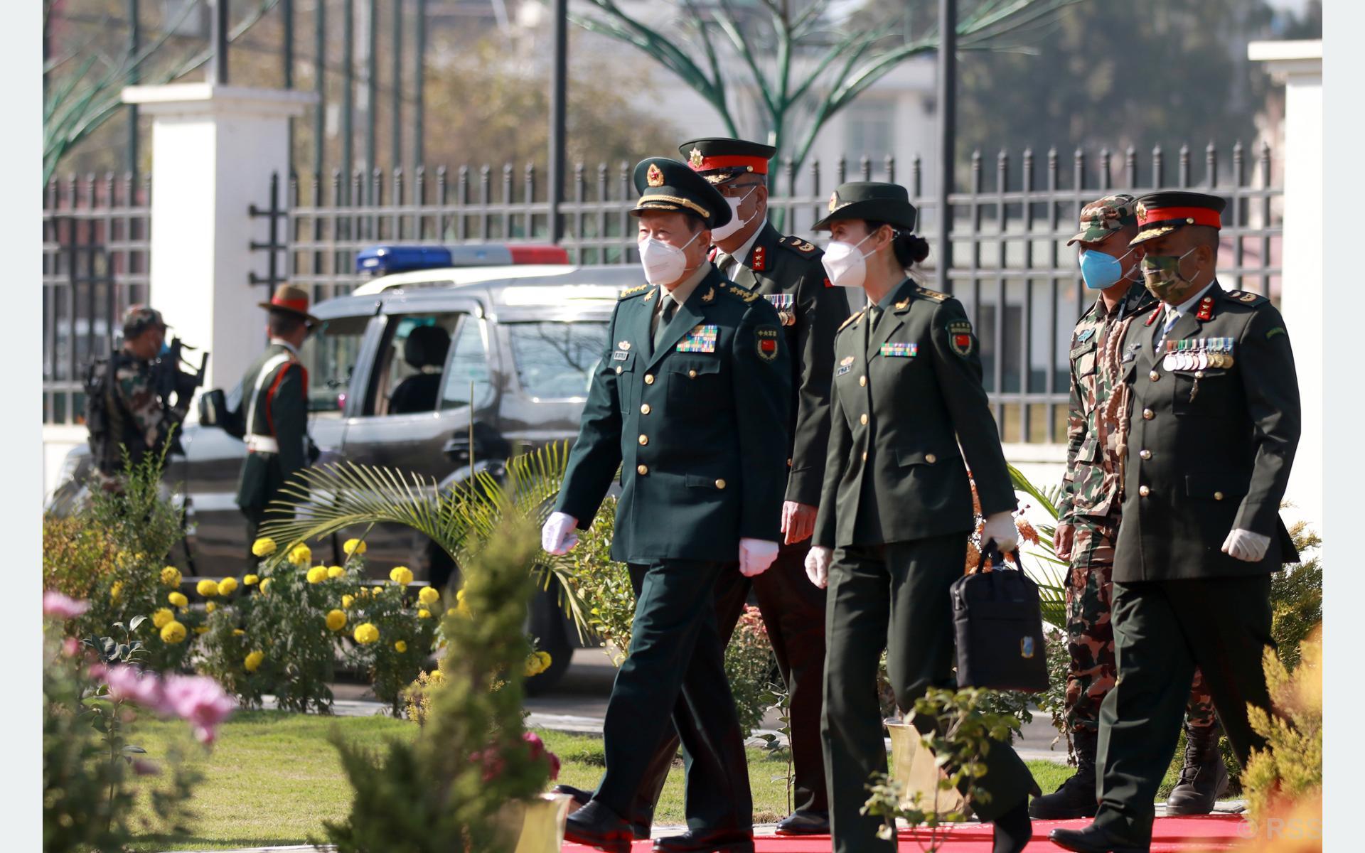 चीनद्वारा पाँच करोड युआन बराबरको अतिरिक्त सैन्य सहयोगको घोषणा