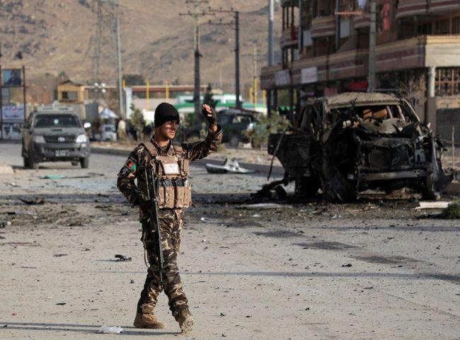 अफगानिस्तानमा कार बम आक्रमणमा कम्तिमा २६ जना सुक्षाकर्मीको मृत्यु
