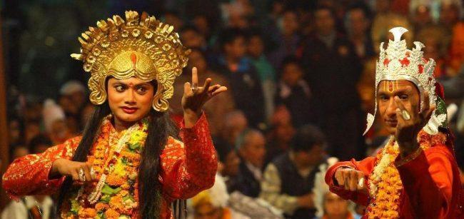 नृसिंह नृत्य मञ्चनः लामो नाच दुई दिनमै सम्पन्न