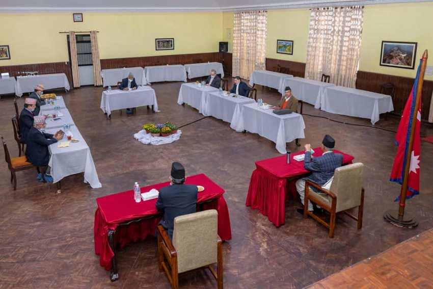 नेकपा सचिवालय बैठक सकियो, भोलिको स्थायी कमिटीमा दुई अध्यक्षका प्रस्ताव पेश हुने