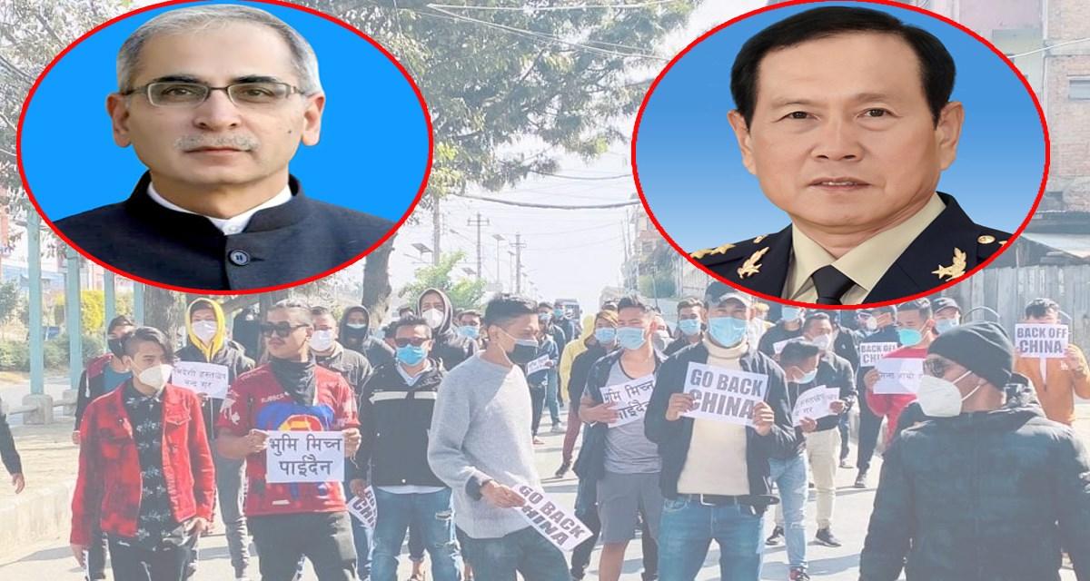 चिनियाँ रक्षामन्त्रीको नेपाल भ्रमणले भारतलाई तनाव, राजधानीमा चिनियाँ जासुस ?
