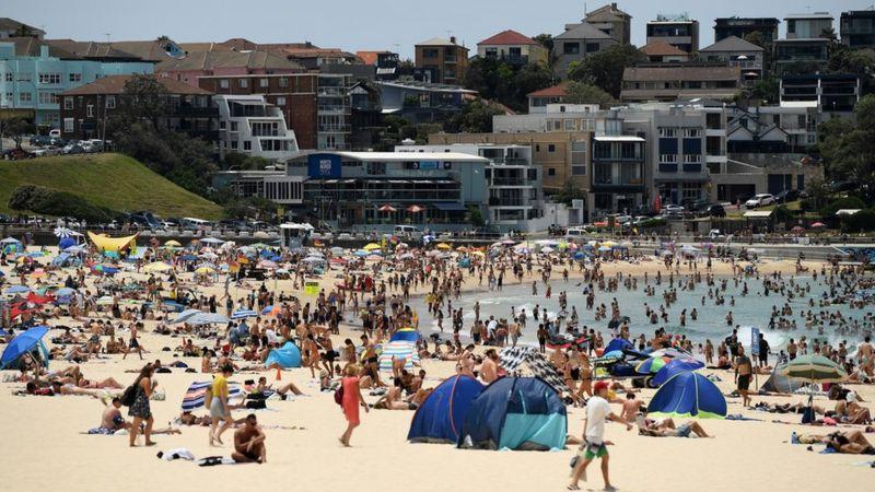 अस्ट्रेलिया गर्मी बढ्दै, सिड्नीमा तापक्रमको नयाँ कीर्तिमान