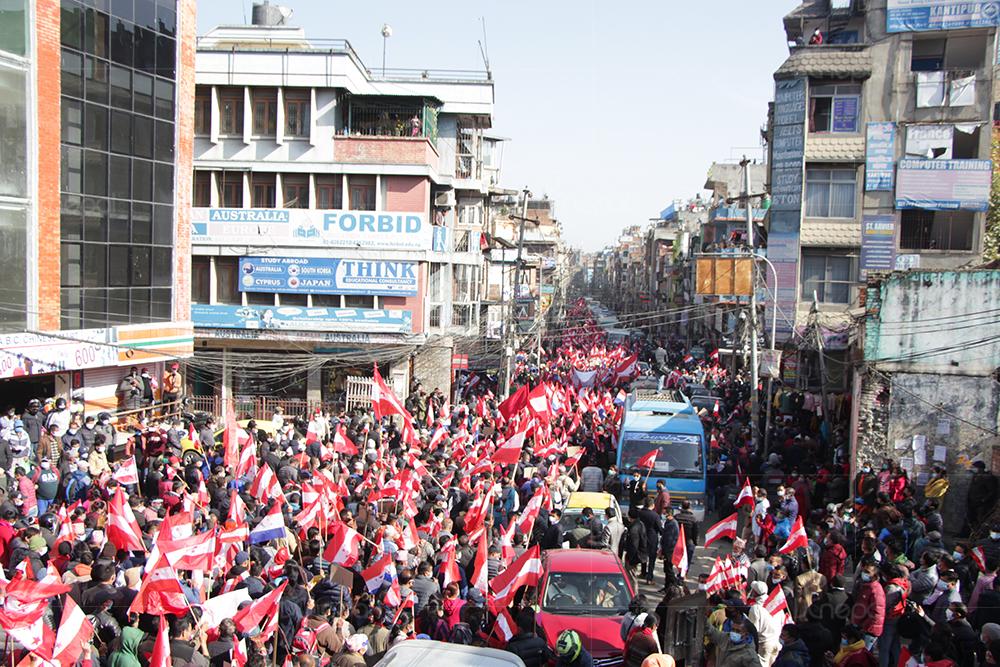 देशभर काँग्रेस शक्ति प्रदर्शन, सरकारलाई सच्चिन चेतावनी