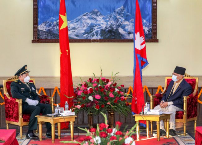 रक्षामन्त्रीको भ्रमणपछि चीनको खतरनाक भनाइ, नेपालको सार्वभौमिकताको रक्षामा सहयोग गर्न तयार छ चीन