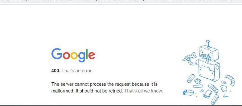 गूगलको सर्भर समस्या हल