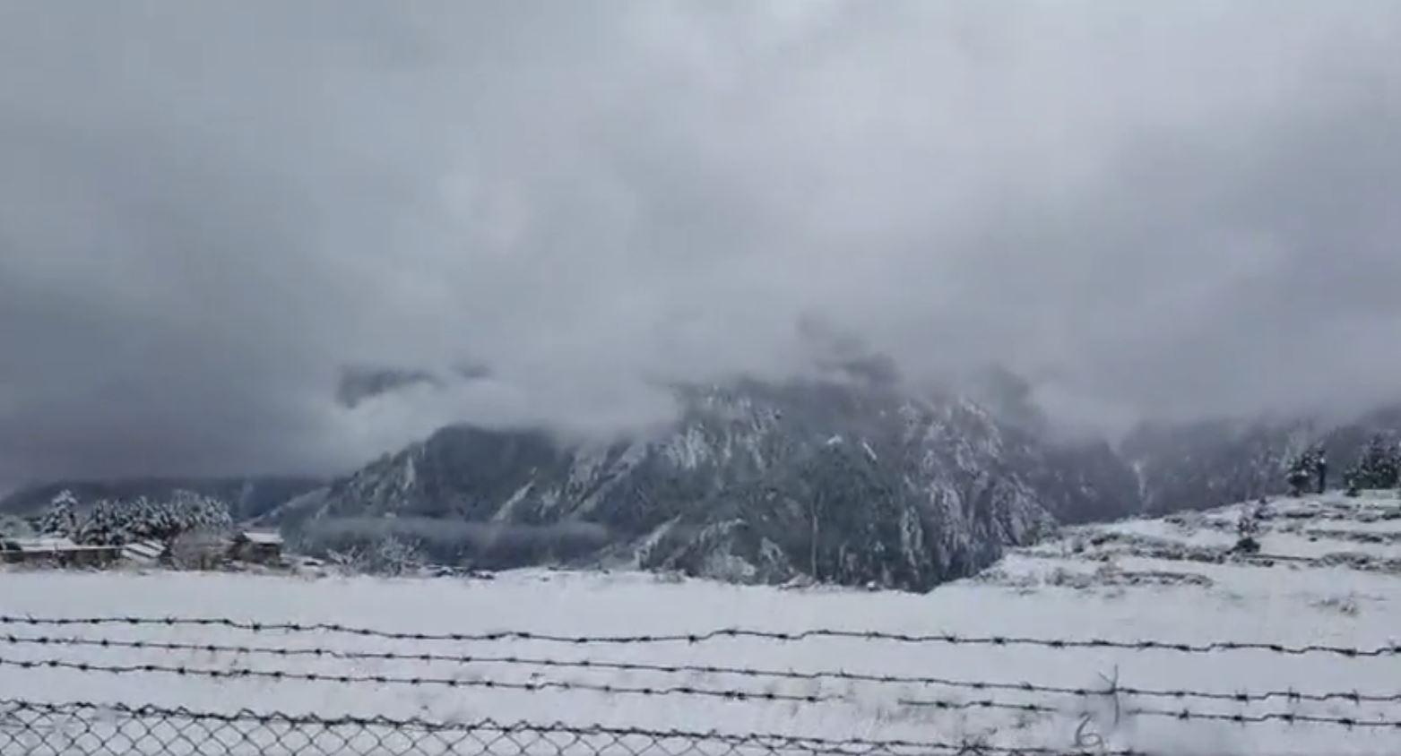 हुम्लाको सदरमुकाम सिमिकोट हिमपातले सेताम्ये (फोटोफिचर)