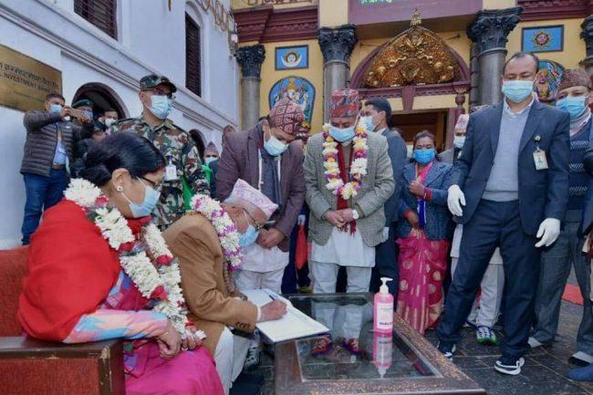 पशुपति पुग्नासाथ प्रधानमन्त्रीको मन पग्लियो, ठाउँको ठाउँ ३० करोड दिने आदेश