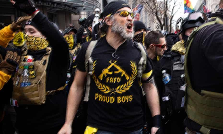 ट्रम्प समर्थक 'प्राउड ब्वायज'लाई आतंकवादी संघटन घोषित गर्ने विधेयक संसदबाट पारित