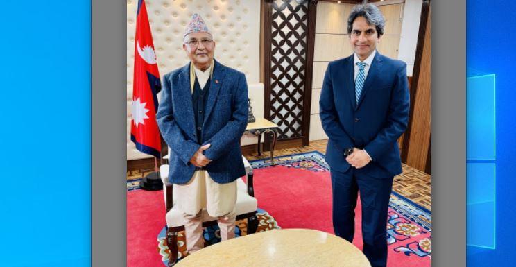 जी न्यूजसँग प्रधानमन्त्रीको अन्तर्वार्ताः नेपाल भारतको सानो भाइ होइन