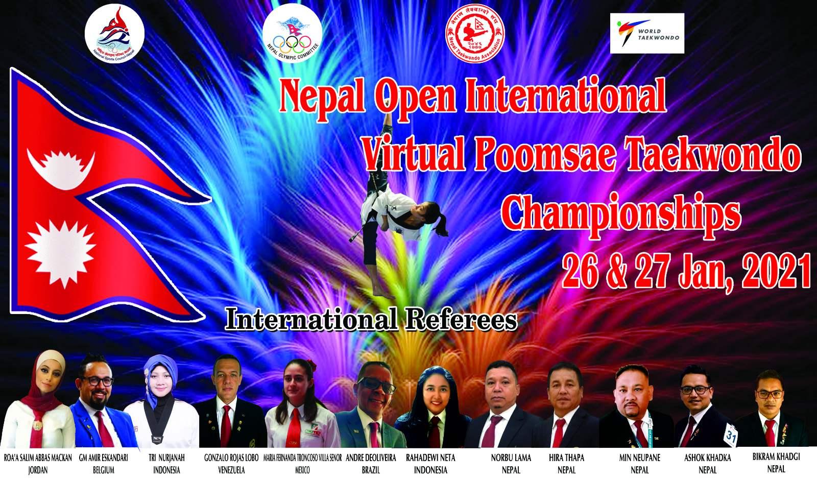 नेपाल ओपनमा पारा विधा थप