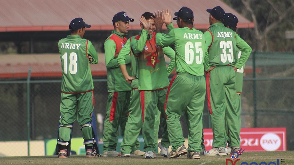 पीएम कप क्रिकेटः आर्मीले गण्डकी प्रदेशलाई पराजित गर्दाको तस्वीरहरु (फोटो फिचर)