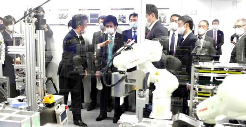 कोरोना परिक्षणमा जापान रोबर्टको प्रयोग गरिदैँ