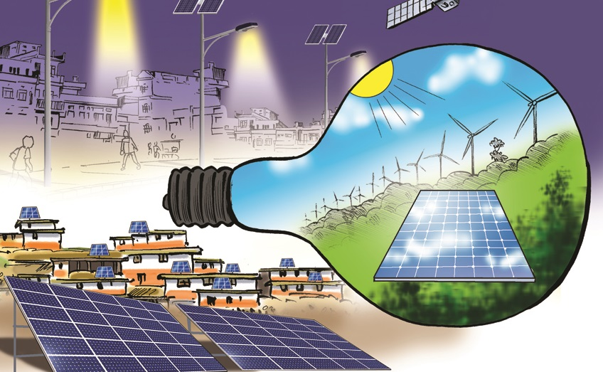 झापामा ठूलो सौर्य विद्युत् परियोजना