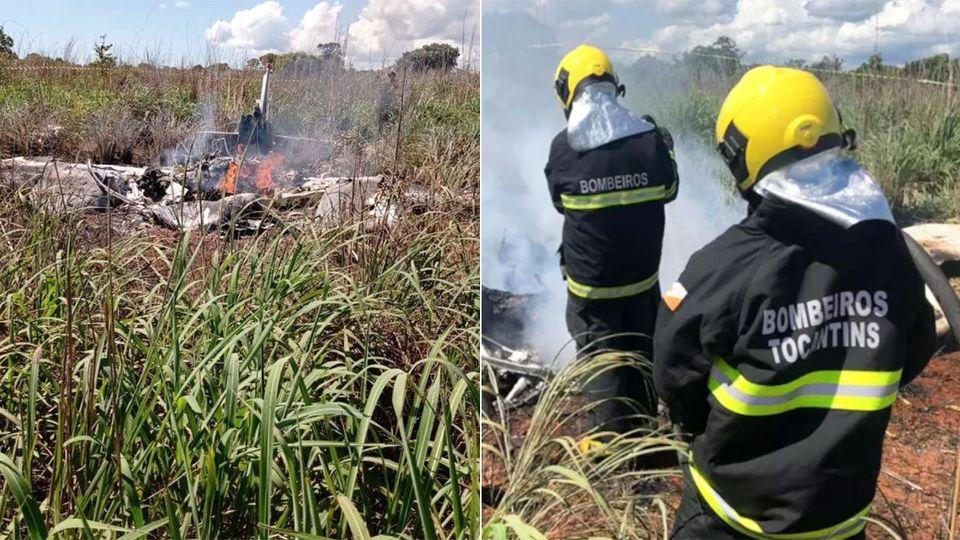 ब्राजीलमा विमान दुर्घटना हुदा फुटबल क्लबका अध्यक्ष सहित चार खेलाडीको मृत्यु