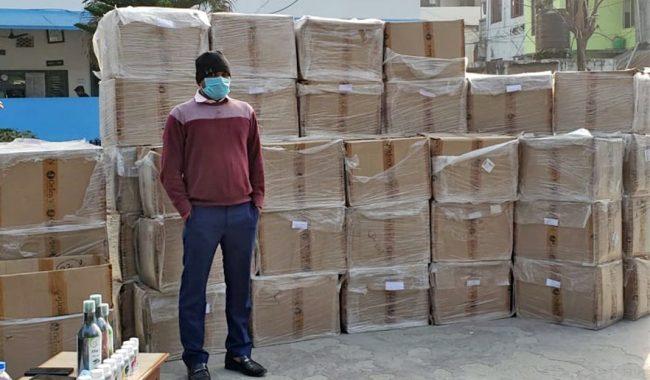 ग्लोबल ओरियन्समा छापा, लाखौँको सामान बरामद