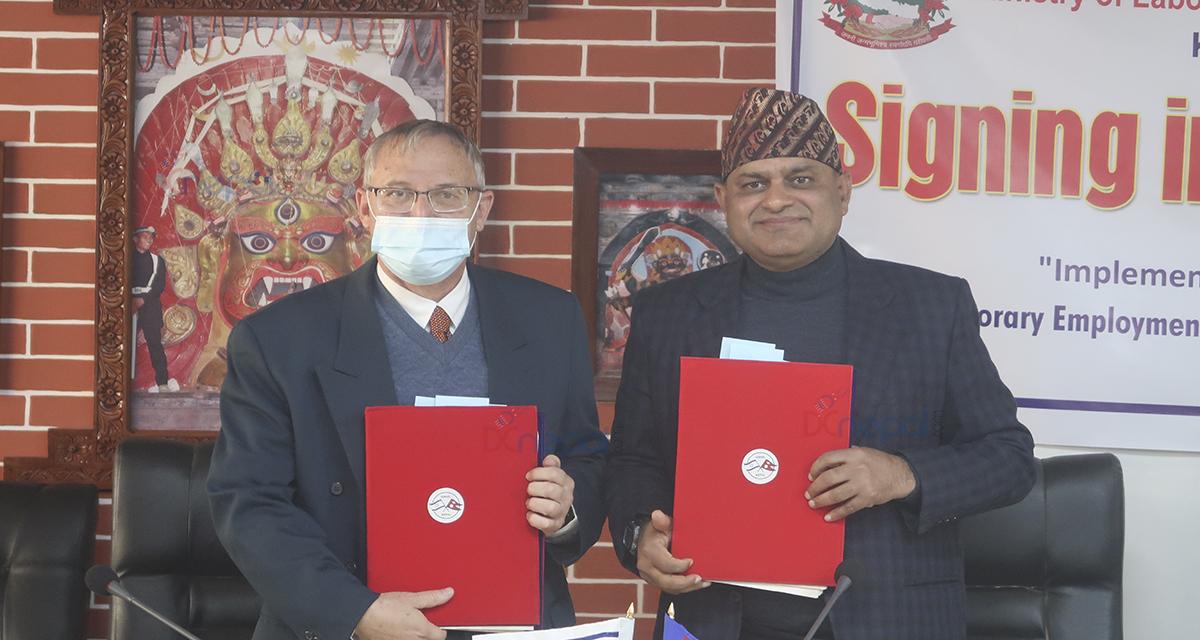 नेपाल र इजरायल सरकारबीच श्रम सम्झौता : सुरुवातमा ५०० कामदार लैजाने
