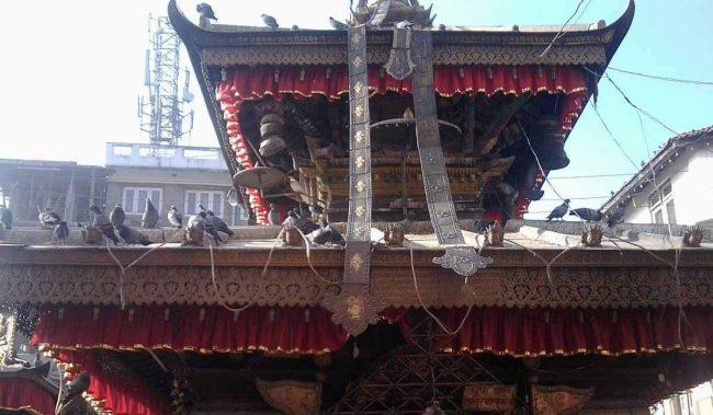 भाटभटेनी मन्दिरको सत्तल पुनः निर्माण अपारदर्शी भएको गुनासो