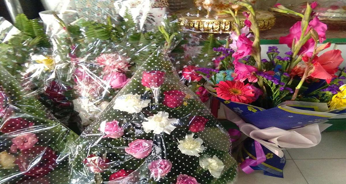 प्रेमिल जोडीको प्रतिक्षामा ओइलाउन थाले गुलाबका फूल