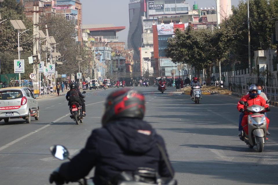 तस्वीरमा हेर्नुहोस् प्रचण्ड–नेपाल समूहको आमहड्ताल