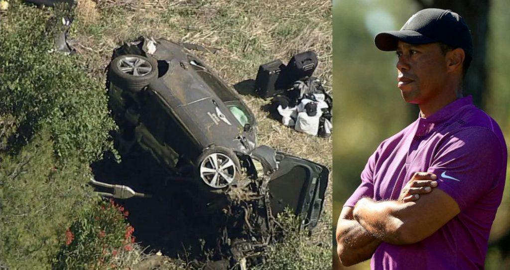 विश्वप्रसिद्ध गल्फ खेलाडी टाइगर उड्सको कार दुर्घटना, गम्भीर घाइते