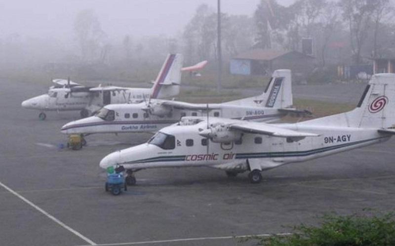 त्रिभुवन विमानस्थलको भिजिबिलिटीमा सुधार, ३ दिनमा १ सय ३० उडान अवरुद्ध