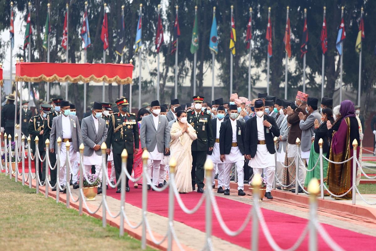 बंगलादेश भ्रमण सम्पन्न गरी राष्ट्रपति भण्डारी स्वदेश फिर्ता (फोटोफिचर)