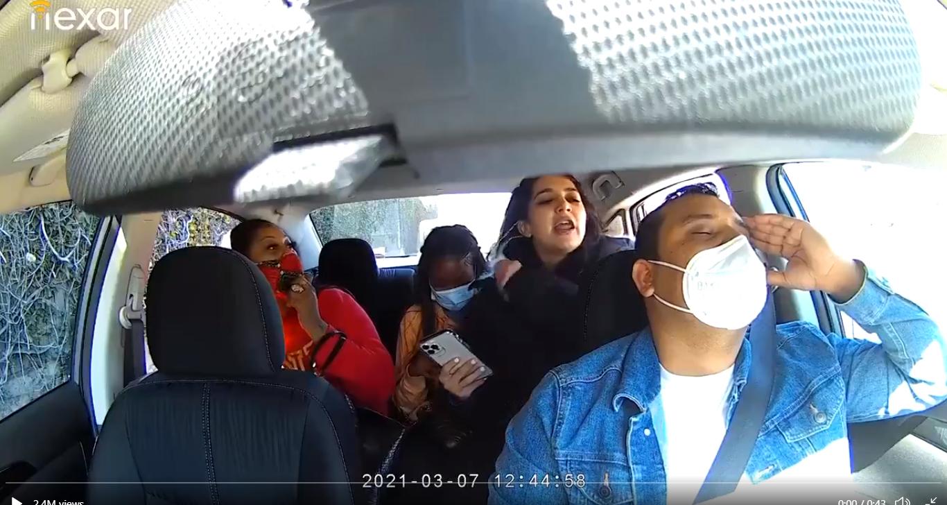 अमेरिकामा नेपाली उबर चालकमाथि ३ युवतीको दुर्व्यवहार, भिडियो भाइरल