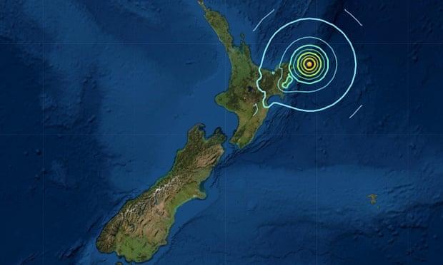 न्यूजिल्याण्डमा शक्तिशाली भूकम्प