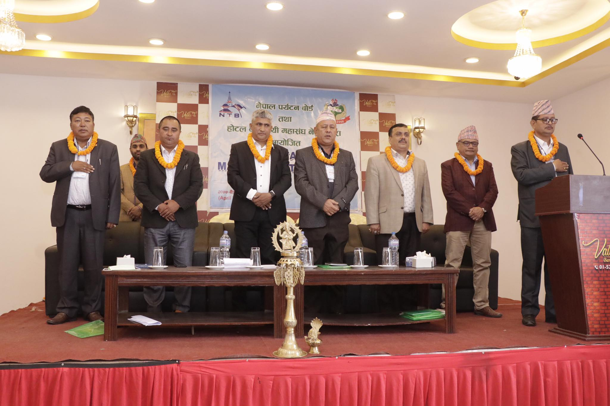 नेपाल पर्यटन बोर्डद्वारा हस्पिटालिटी म्याजनेजमेन्ट सम्बन्धि तालिम