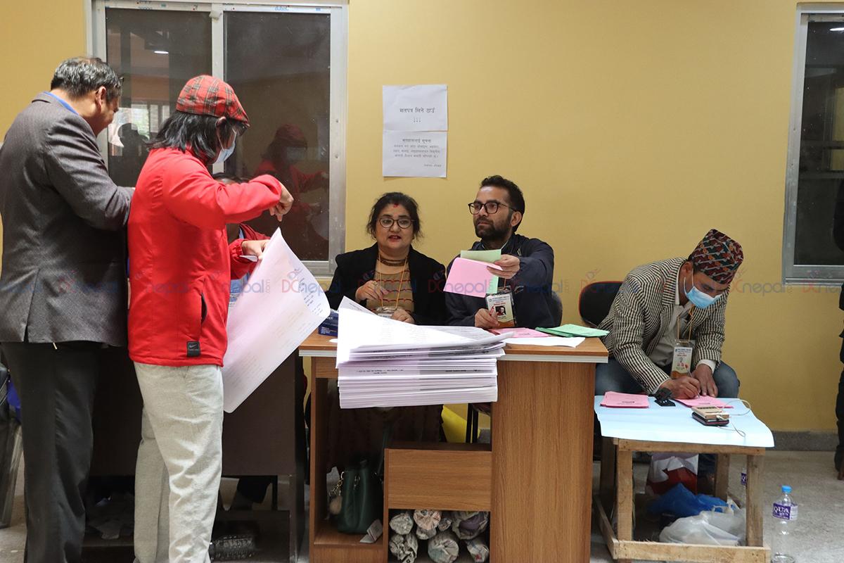 तस्वीरमा हेर्नुहोस् पत्रकारको चुनाव