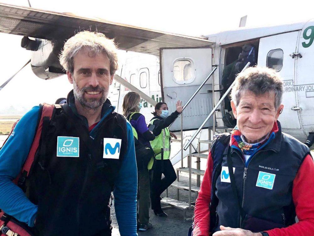 स्पेनका ८२ वर्षीय वृद्ध नेपालका अग्ला हिमाल चढ्ने तयारी गर्दै