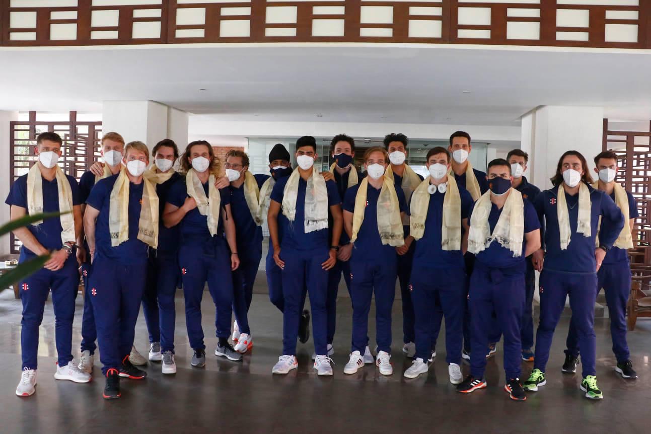 त्रिकोणात्मक टी–ट्वान्टी सिरिजका लागि नेदरल्यान्ड्सको टोली काठमाडौंमा