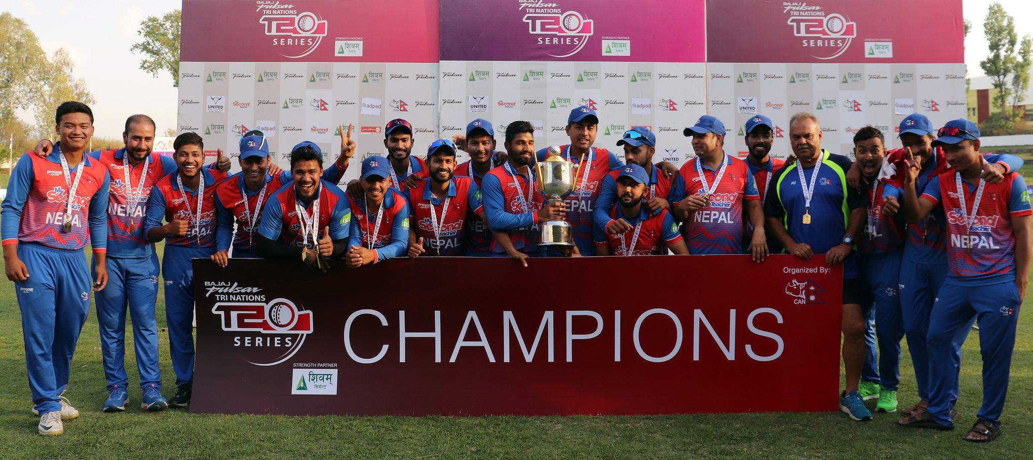 उज्यालो भविष्यतर्फ नेपाली क्रिकेट