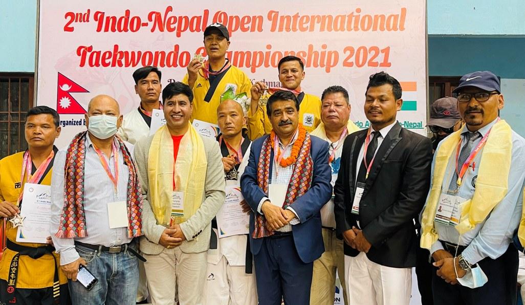 इन्डो–नेपाल खुला अन्तर्राष्ट्रिय तेक्वान्दोमा सरोजलाई दोहोरो स्वर्ण