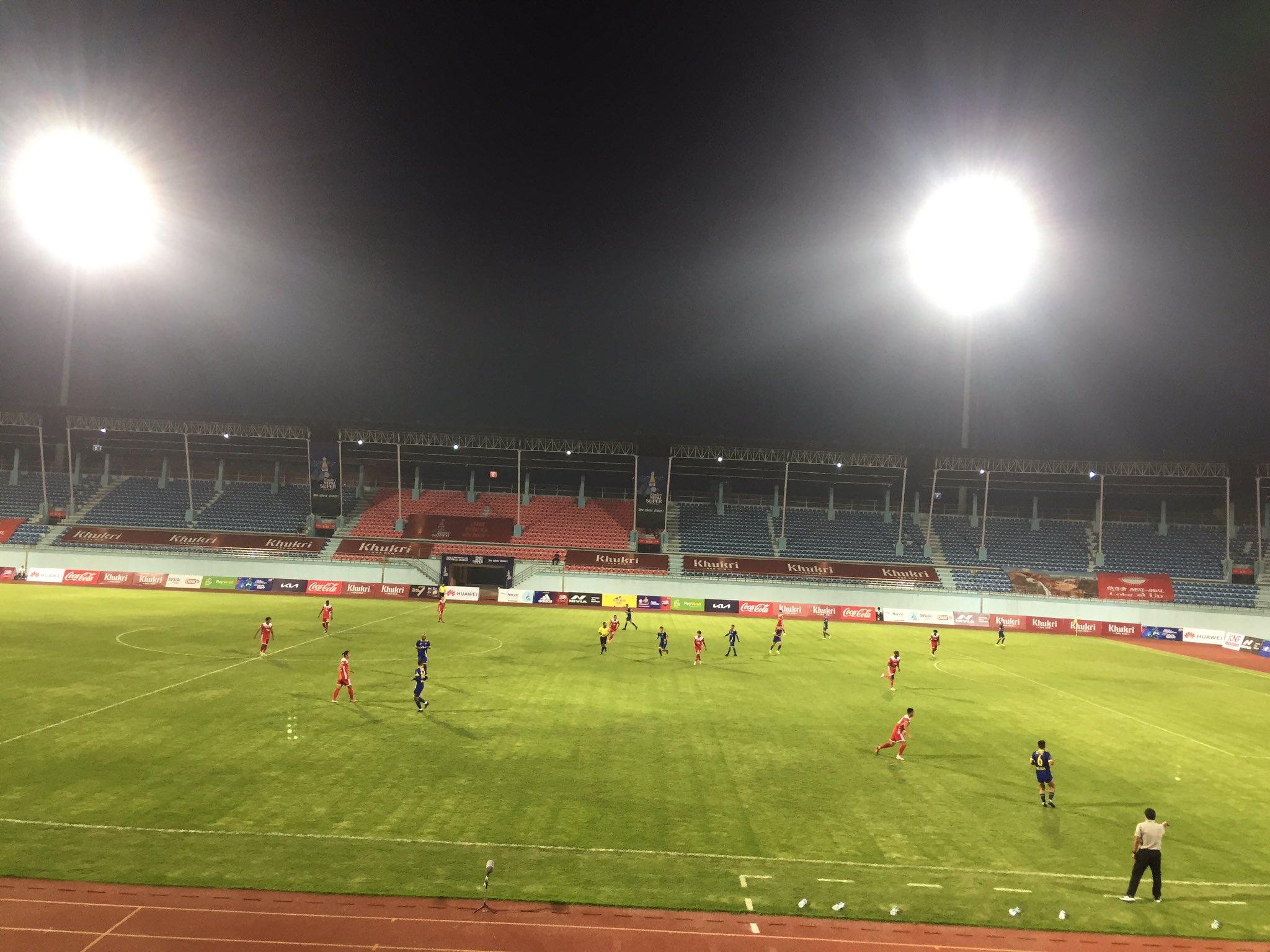 एनएसल फुटबलः धनगढीको पहिलो जित