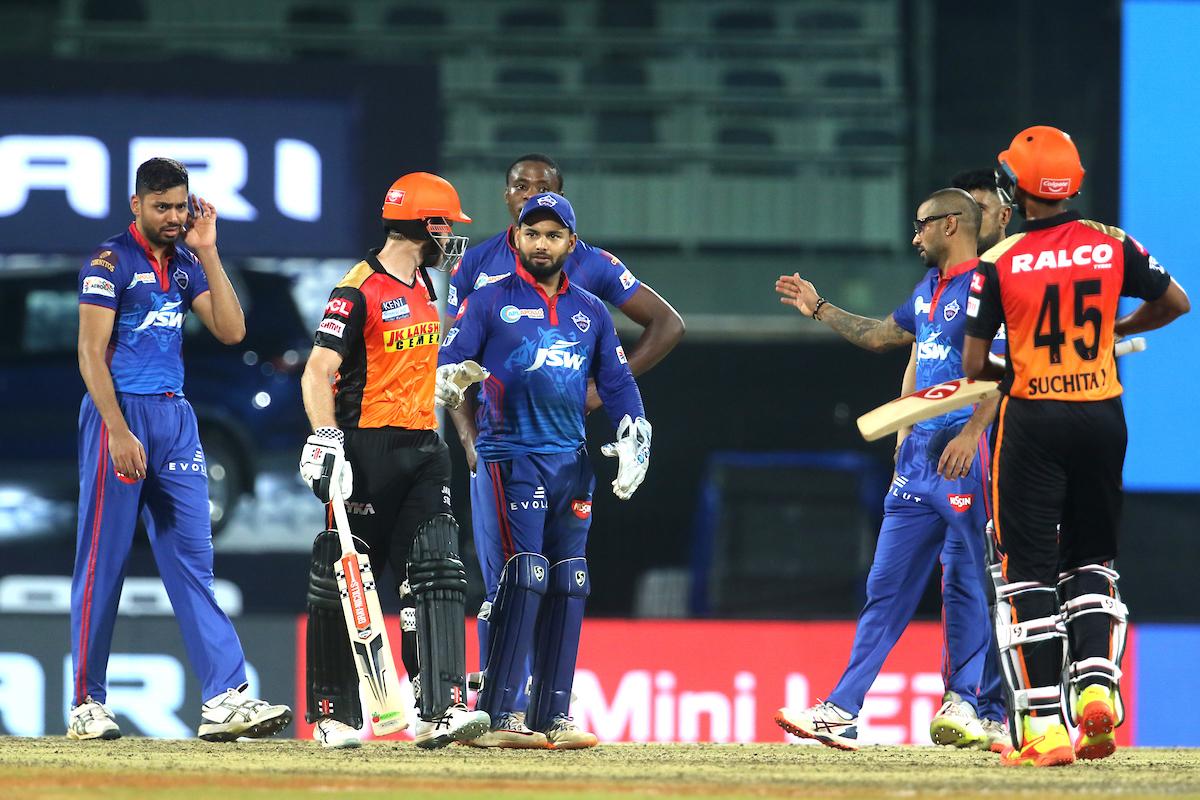 आईपीएल १४ को पहिलो सुपर ओभर खेल दिल्लीले जित्यो