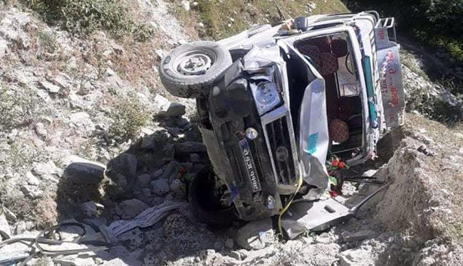 गुल्मीका सरकारी कर्मचारी चढेको जीप दुर्घटनामा मृत्यु हुनेको संख्या ५ पुग्यो