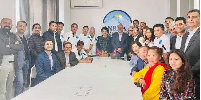 अष्ट्रेलियामा नेपालीहरुको पहिलो एनआरएनए कार्यालय स्थापना