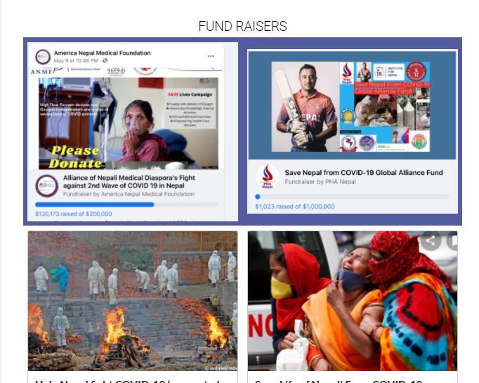 उत्तरी अमेरिकामा रहेका नेपालीहरु नेपालका लागि सहयोग जुटाउँदै