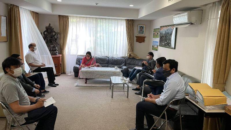 नेपालमा सघाउन जापानमा कोभिड–१९ प्रतिकार्य समिति