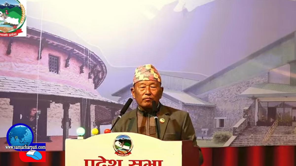 कृष्ण थापा : गण्डकी प्रदेशका 'किङमेकर'