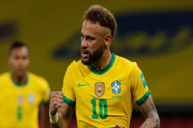 ब्राजिलको जितमा नेमारको गोल